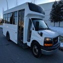 2008  GMC Savana 12 Passenger shuttle bus